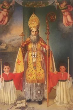 أيقونة القديس يوحنا مارون