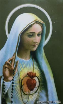 أيقونة قلب مريم الطاهر