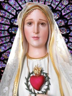أيقونة قلب مريم المتألم الطاهر