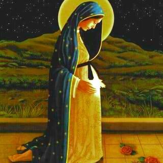 أيقونة مريم الحامل