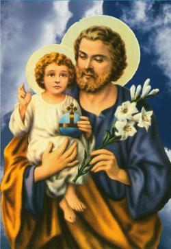 أيقونة القدّيس يوسف البتول