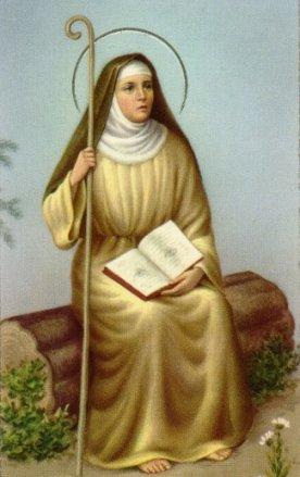 أيقونة القديسة مونيكا