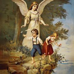 أيقونة الملاك الحارس