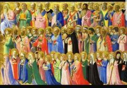 أيقونة جميع القديسين
