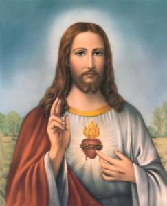 ايقونة قلب يسوع الأقدس