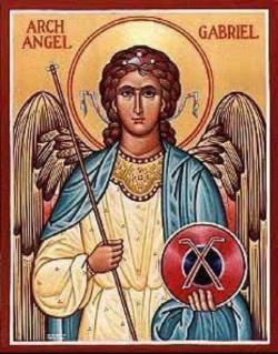 أيقونة رئيس الملائكة جبرائيل