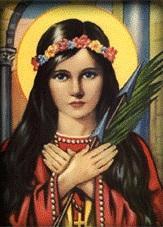 ايقونة القديسة فيلومينا